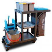 Carro de Limpeza Universal com Sistema de Lavagem PROCART 311